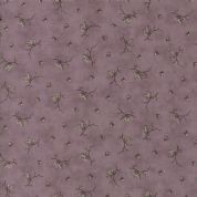 Moda Quill by 3 Sisters - 5617 - Butterflies Floral on Plum - 44157 17 - Cotton Fabric